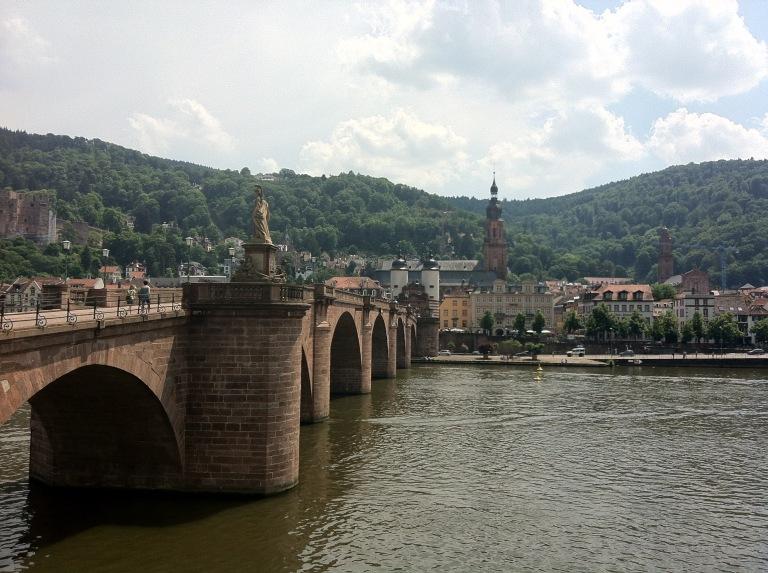 Bottom of schlangenweg Heidelberg June 2015