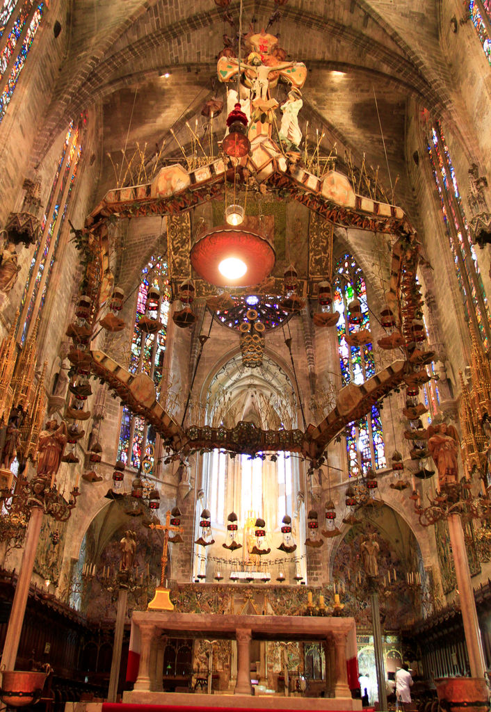 canopy cathedral mallorca