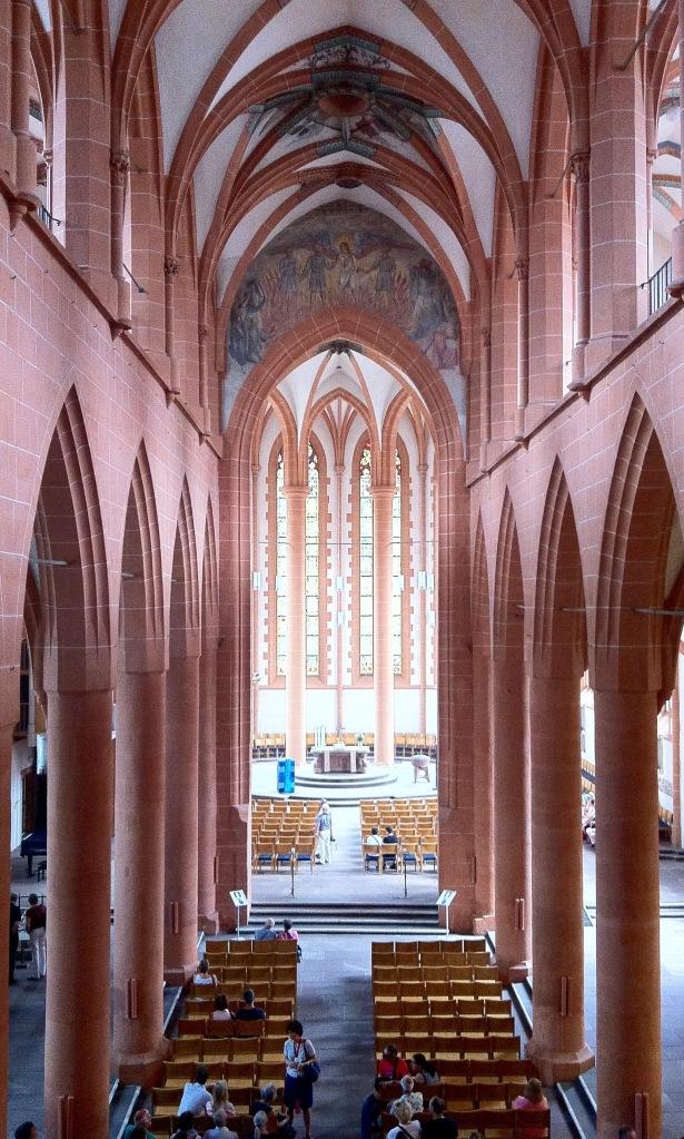 Church interior Heidelberg June 2015
