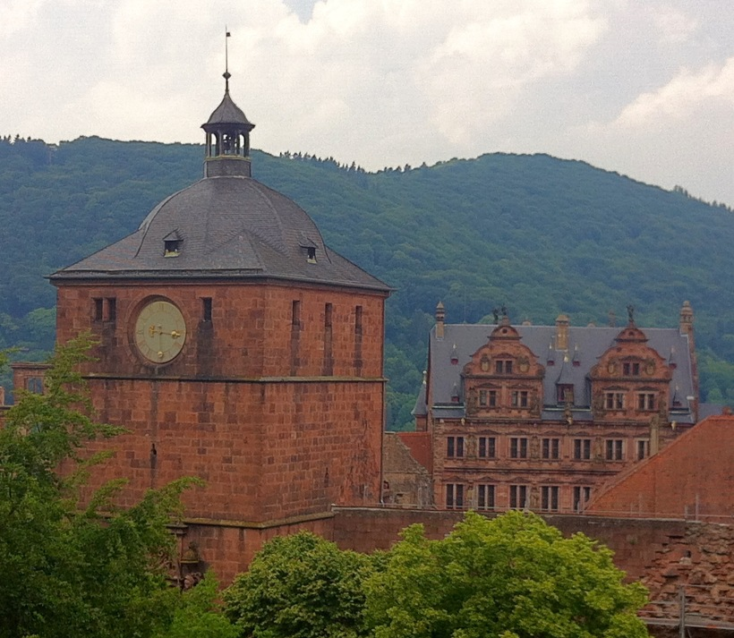 Top of the Schloss Heidelberg June 2015