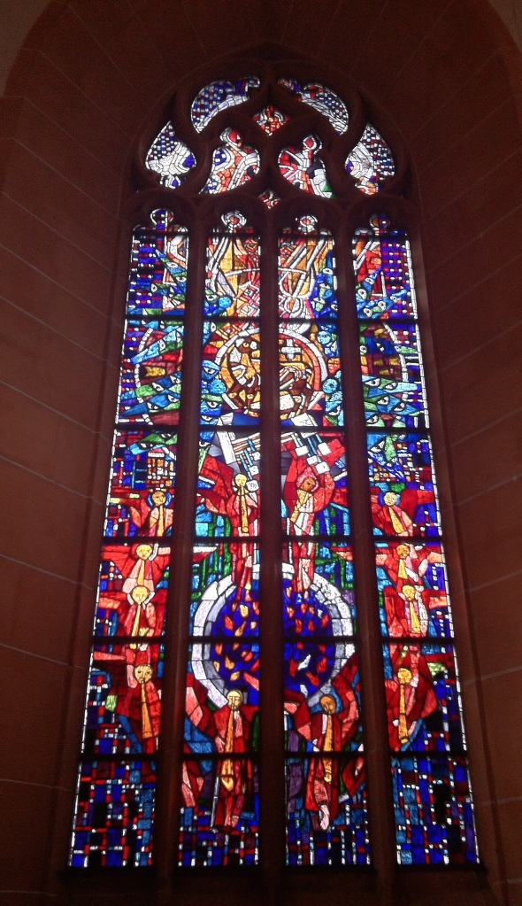West Window Church Heidelberg June 2015
