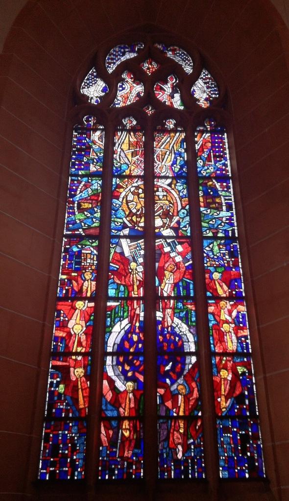 West Window Church Heidelberg June 2015