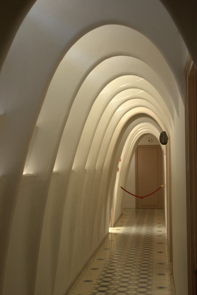 Casa Batllo arches.