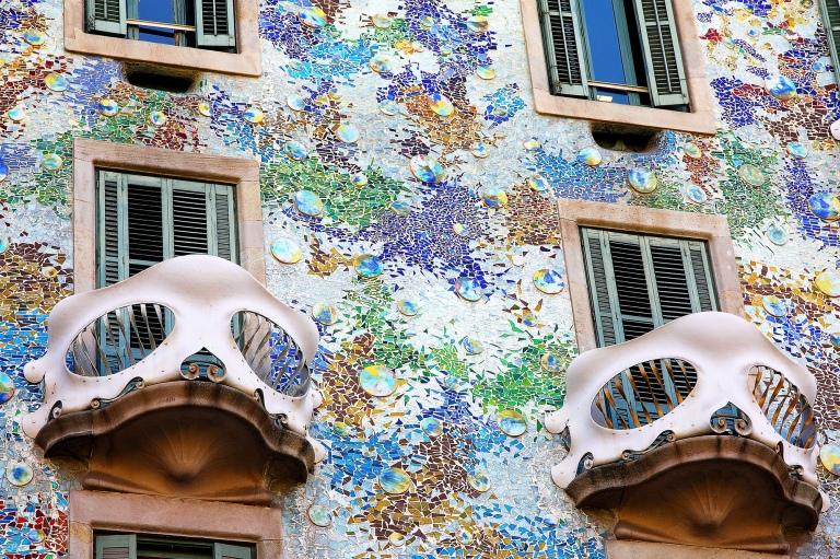 Casa Batllo Facade Closeup